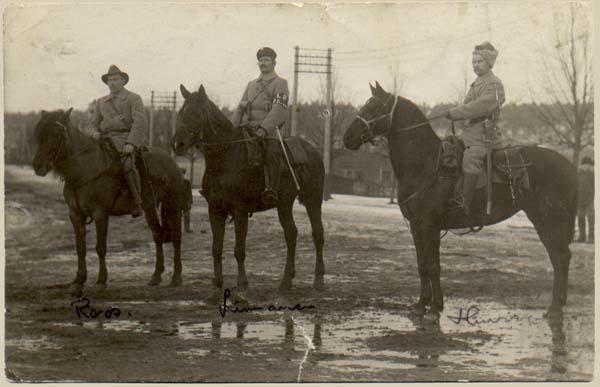 Рис. 6 Командиры Красной гвардии в Лахти