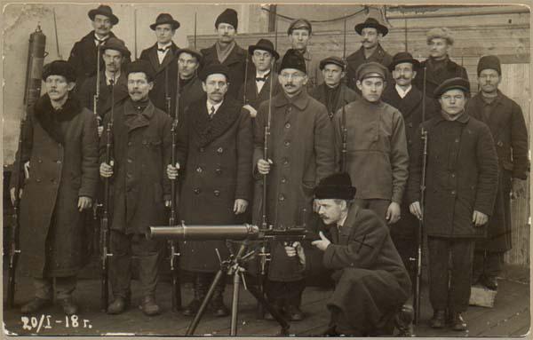 Рис. 8 Пулеметная рота в Портту