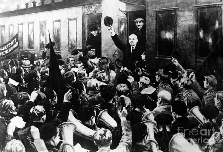 Встреча Ленина на Финляндском вокзале