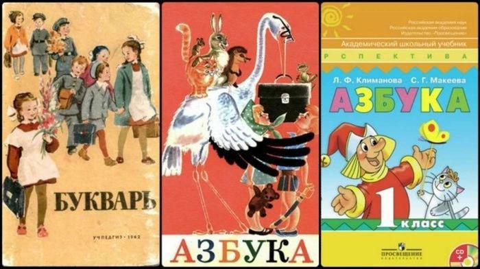 советские буквари