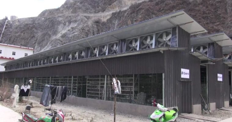 Майнинг-ферма средних размеров (Китай)