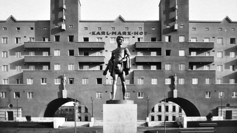 Здание рабочей коммуны имени Карла Маркса, ставшее в феврале 1934-го одним из главных опорных пунктов восставших рабочих Вены.