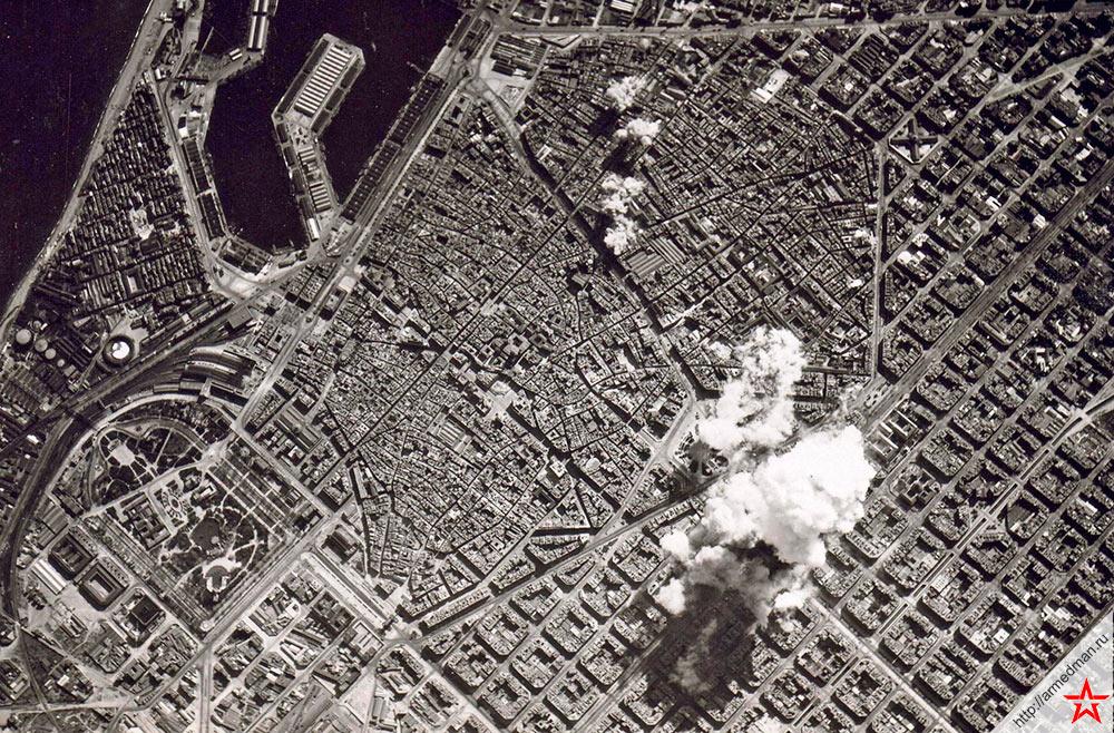 Бомбардировка Барселоны, 1938