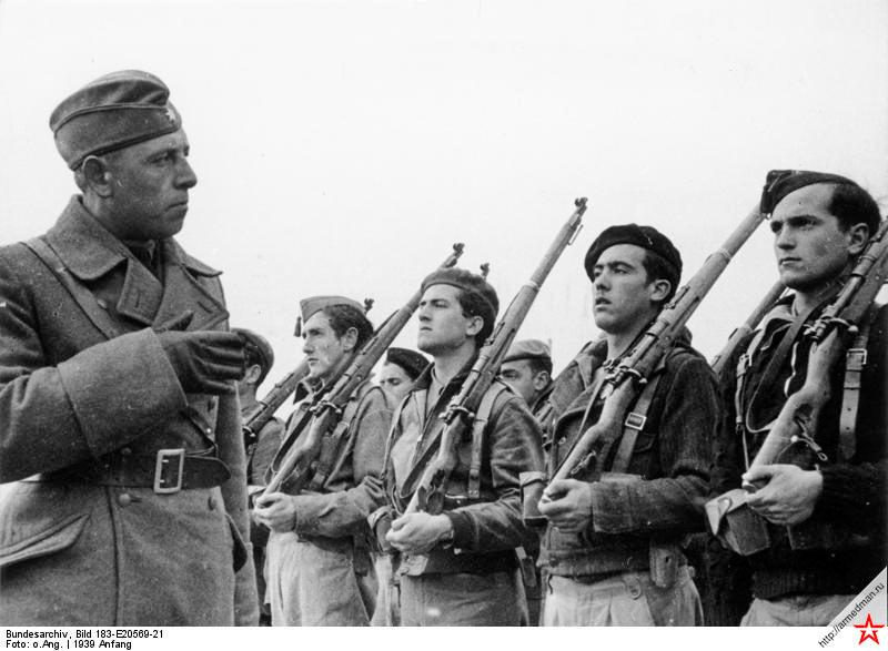 Немецкие советники франкистов