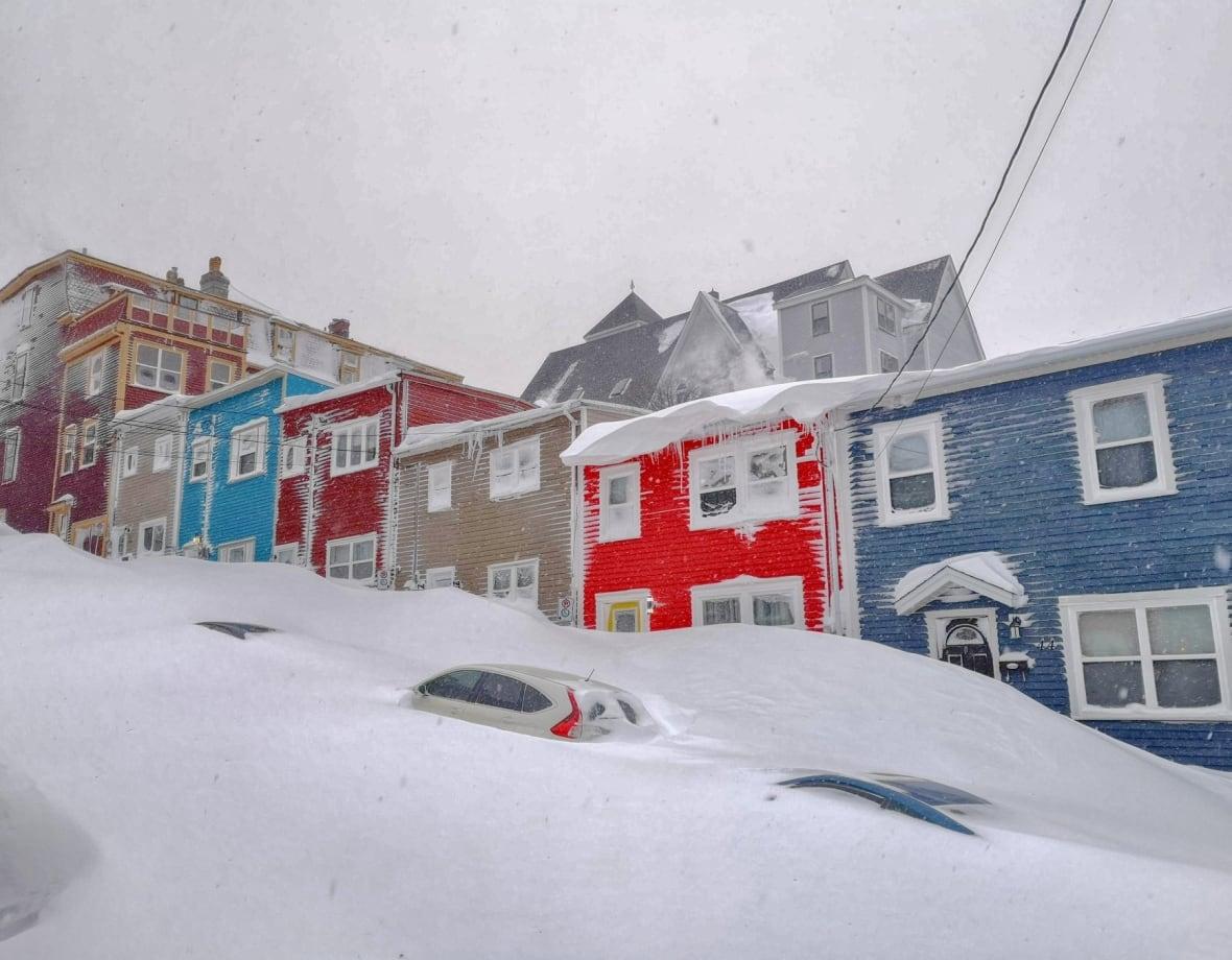 заносы снега